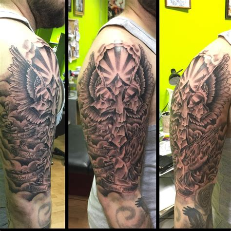 black and grey cross tattoo 26 cross tattoo designs ideas design trends premium