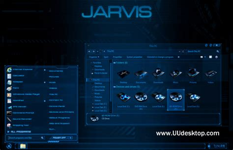 download theme windows 7 jarvis jarvis for win8 8 1 desktop themes free windows 8 visual