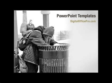 Poverty Powerpoint Template Backgrounds Digitalofficepro 04075 Youtube Poverty Powerpoint Template