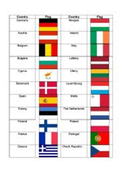 printable pictures of flags from around the world english worksheets the countries worksheets page 188
