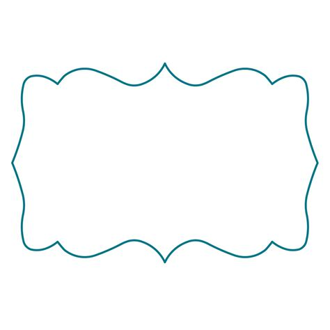frame outline template best photos of bracket shape outlines fancy bracket