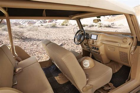 jeep chief concept interior jeep introduces seven concepts at moab easter jeep safari