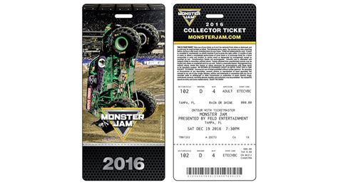monster jam truck tickets 2017 ticket information monster jam