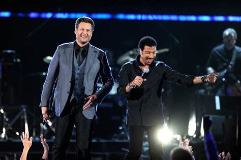 lionel richie e blake shelton blake shelton and lionel richie photos zimbio