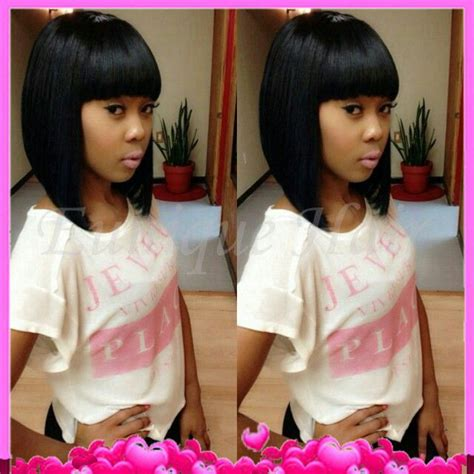 chinese bang wigs for black women aliexpress com buy high quality black short wigs heat