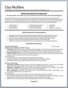 resume templates for to civilian professionally written resume to civilian sle