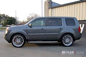 Tires For Honda Pilot 2004 Honda Pilot With 22in Mrr Gt1 Wheels Exclusively From