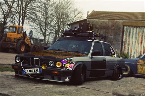 bmw e30 stanced bmw e30 rat style by sk1zzo on deviantart