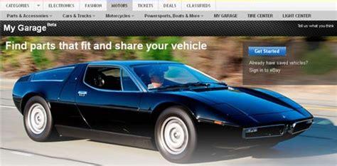 Ebay Motors Maserati by My Ebay Motors Garage Ebay Stories