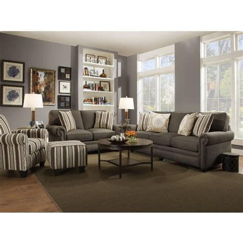 living room sofa and loveseat swan living room sofa loveseat dark stone 97b