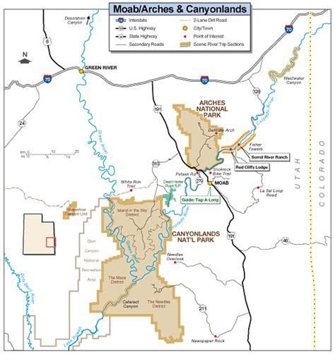 canyonlands national park map canyonlands national park map canyonlands mappery