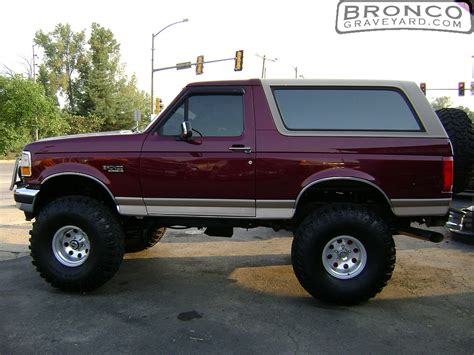bronco car 1996 lifted 1996 bronco eddie bauer pics photos lifted ford