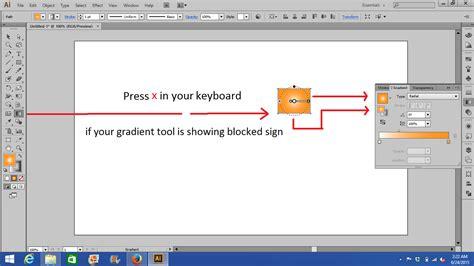 illustrator gradient tool won t change direction graphic design stack exchange