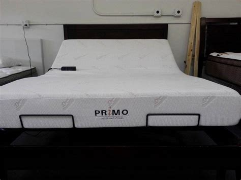 primo adjustable beds memory foam mattress adjustable