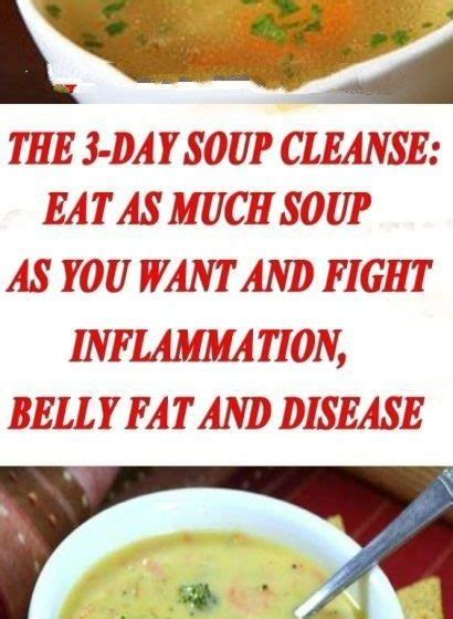 Belly Detox Soup by Drinks Nutrition Archives Health And