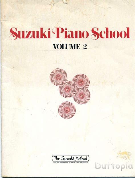 suzuki piano school vol 0739051687 suzuki piano vol 2