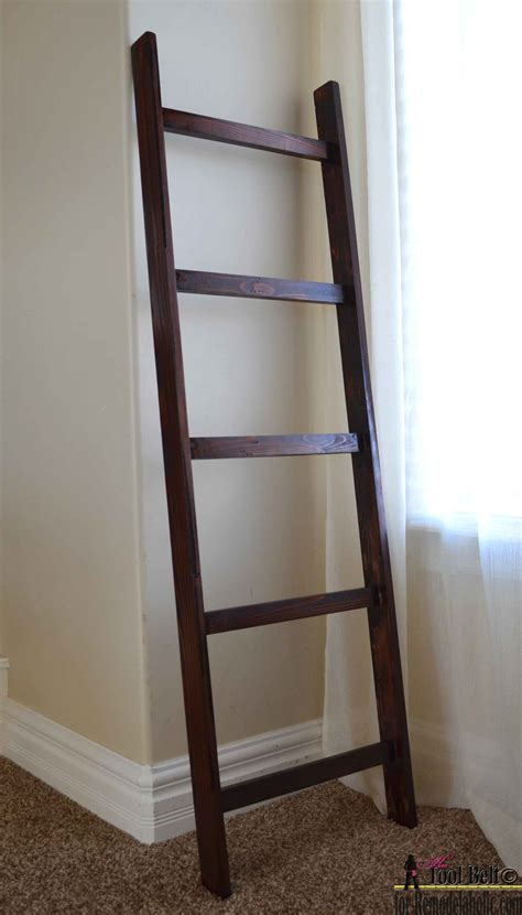 Decorating A Great Room - remodelaholic build an easy blanket ladder for just 5