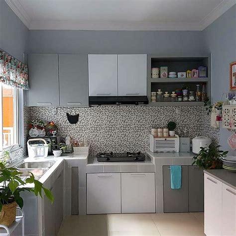 design dapur idaman model motif keramik dapur sempit dapur minimalis idaman