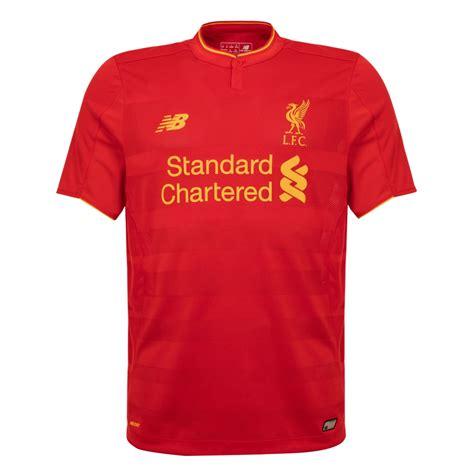 Home Design Store Munich by Lfc Mens Short Sleeve Home Shirt 16 17 Liverpool Fc