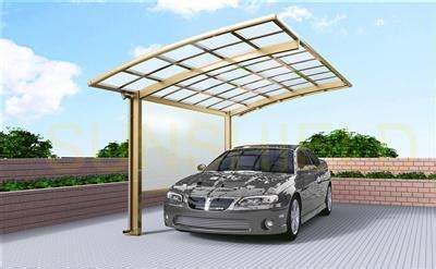 Metal Framed Car Covers by Luxury Carport Butterfly Aluminum Carport Sunshield