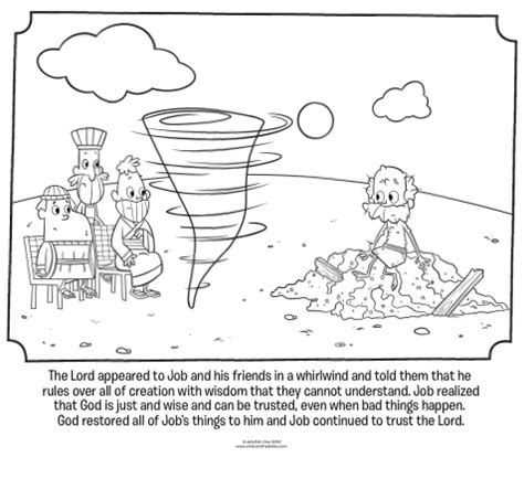 god visits job bible coloring pages what s in the bible