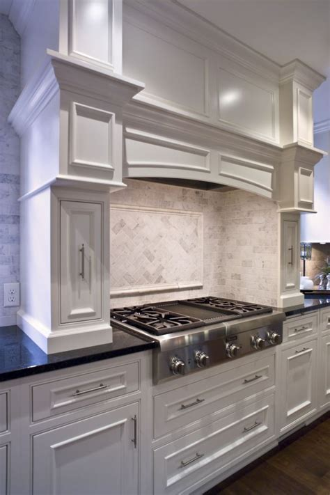 kitchen cabinet hoods crown molding cabinets cabinetry kitchen custom