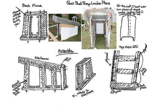goat shed plans   build diy