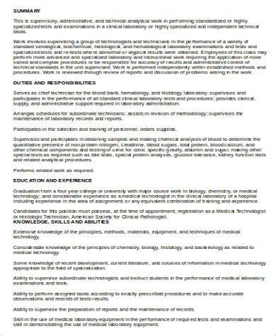technologist description 6 technologist description sles sle