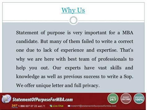 How Important Is Work Experience For Mba by Statement Of Purpose For Mba