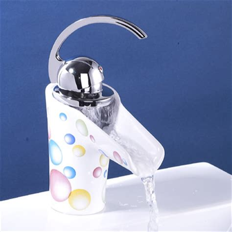ceramic handle bathroom faucet ceramic waterfall faucet sanliv kitchen faucets and bathroom shower mixer taps