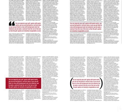 Magazine Layout Design Quote | pull quotes design magazine quotesgram