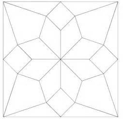 Square Templates For Quilting by Imaginesque Quilt Block 5 Pattern And Templates