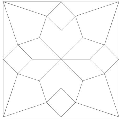 Quilters Templates imaginesque quilt block 5 pattern and templates