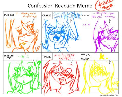 Meme Reaction - confession reaction meme kailarogz by kailarogz on deviantart