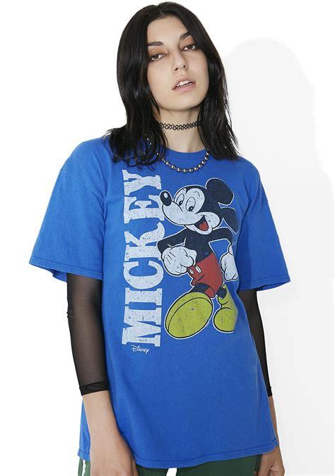 junk food clothing blue retro mickey dolls kill