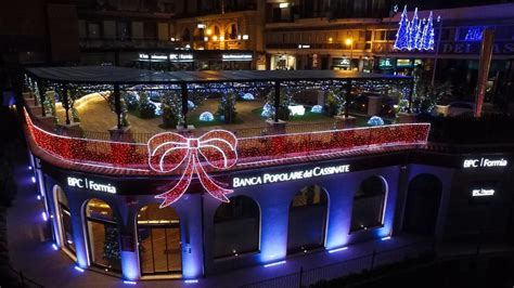 banca cassinate luminarie di natale banca popolare cassinate 2015