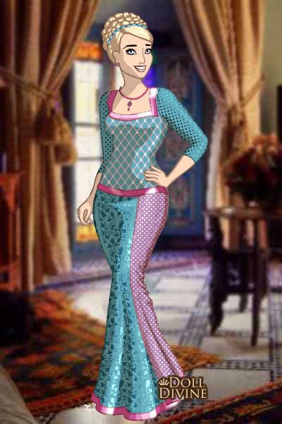 Fashion Dress Roella rosella the island princess by arrelline