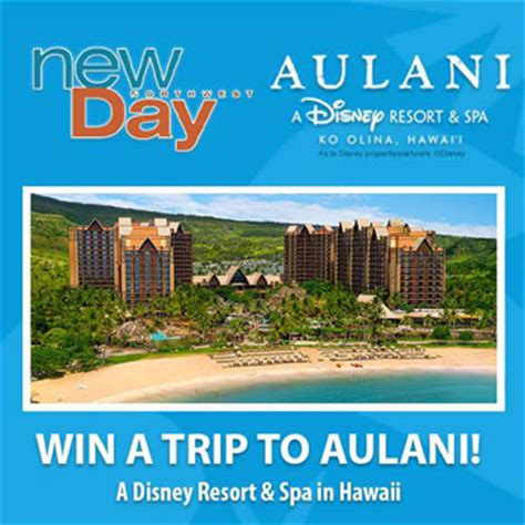 Disney Aulani Sweepstakes - new day northwest sweepstakes trip for 4 to aulani disney resort hawaii