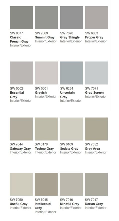 types of grays more than 50 shades of gray lyn at home
