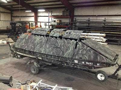duck hunting boat for sale in michigan 15 ft jon boat boats for sale
