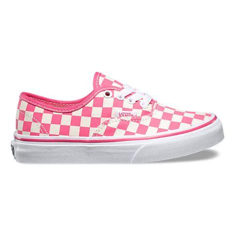 Vans Authentic Checkerboard X Supreme White checkerboard authentic shop shoes at vans