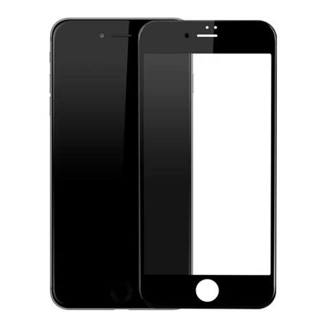 baseus pet soft edge 3d tempered glass for iphone 7 black