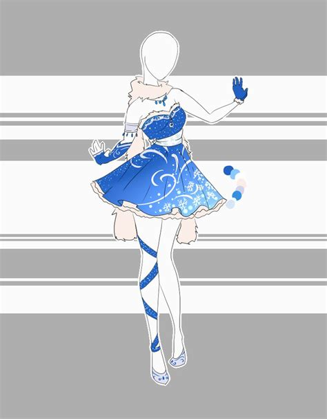 design winter clothes outfit adoptable 31 closed by scarlett knight on