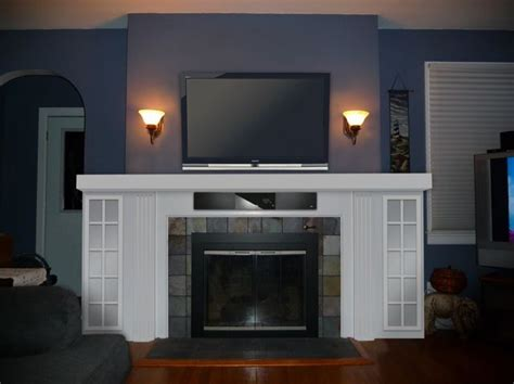 fireplace decor living room pinterest fireplaces