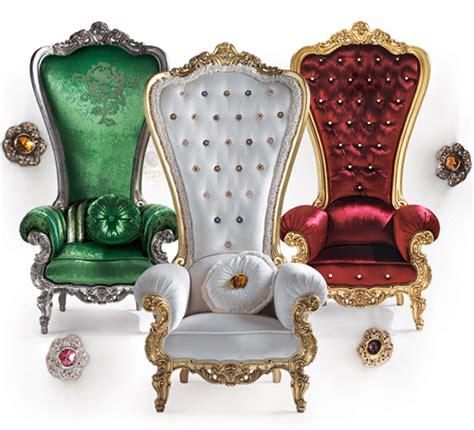 Royal Chair Rental by Sillones Reales De Lujo Por Caspani