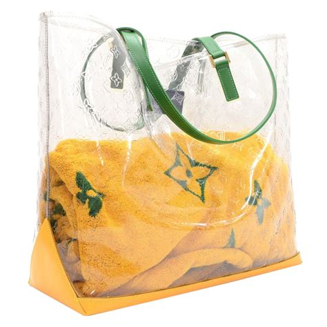 louis vuitton clear monogram vinyl brazil