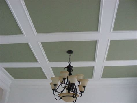 Drop Ceiling Moulding Coffered Ceiling Trim Suspended Drop For Mi Casa