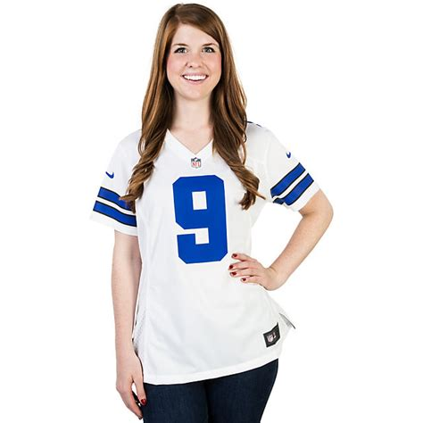 premier white tony romo 9 jersey popular p 341 dallas cowboys womens tony romo 9 nike replica