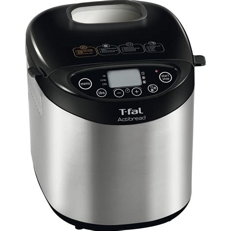 Bakery Maker Indicator Conotec t fal actibread 2 lb gluten free bread maker pf311e51 the home depot