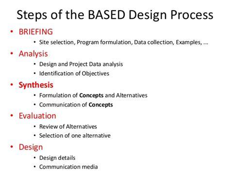 design concept evaluation techniques architectural design concepts approaches